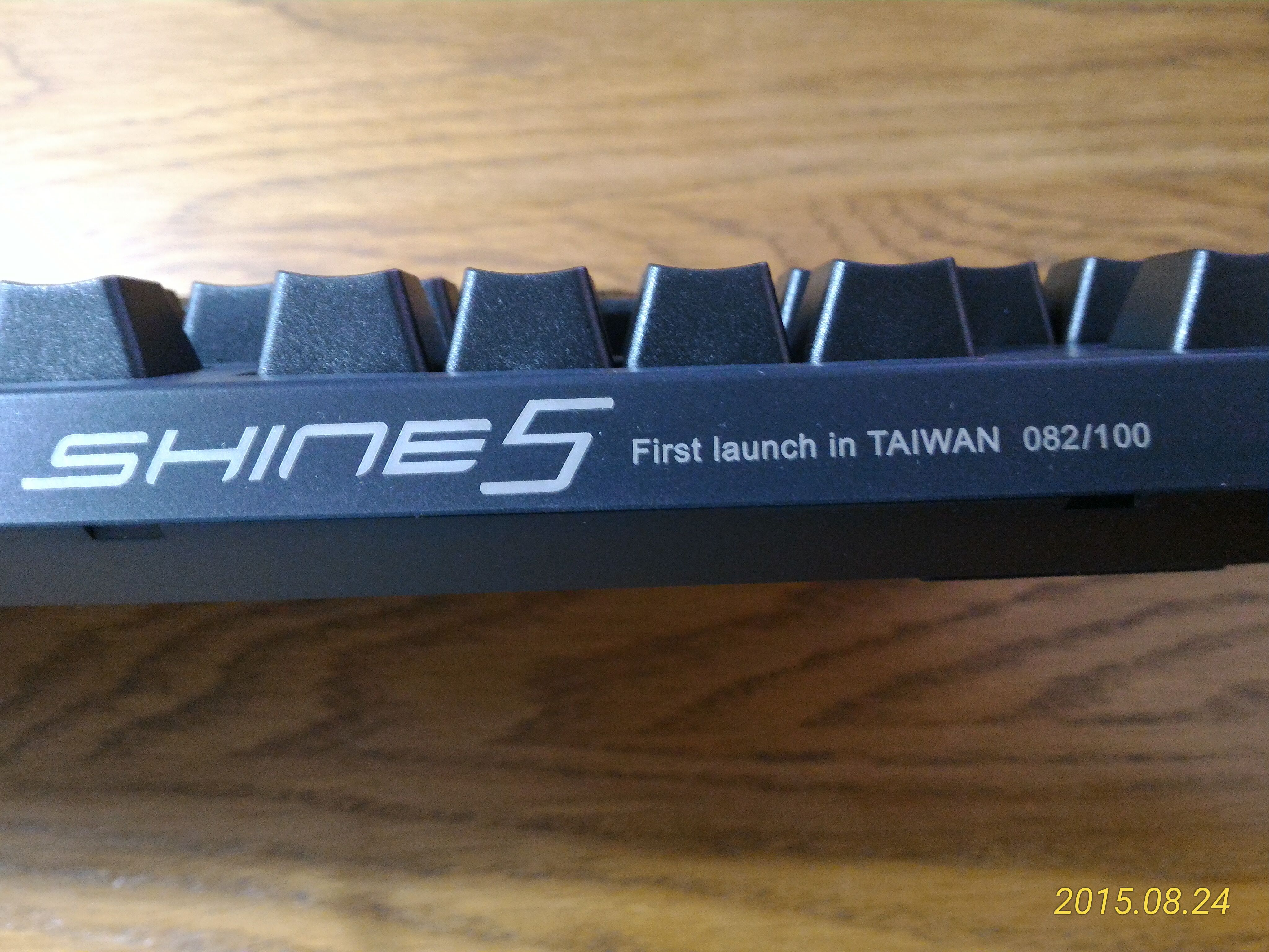 Shine 5 First launch in Taiwan 082/100